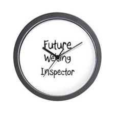Future Welding Inspector Wall Clock
