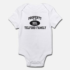 Property of Telford Family Infant Bodysuit
