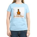 Bottle of Rum Women's Light T-Shirt