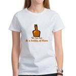 Bottle of Rum Women's T-Shirt