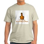 Bottle of Rum Light T-Shirt
