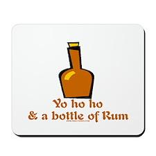 Bottle of Rum Mousepad