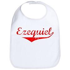 Ezequiel Vintage (Red) Bib