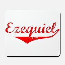 Ezequiel Vintage (Red) Mousepad