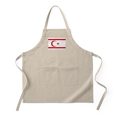 North Cyprus flag BBQ Apron