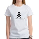 1 Eye Peg Leg Women's T-Shirt