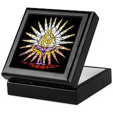 """Stained Glass"" Chalice Keepsake Box"