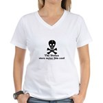 Stone Never This Cool Women's V-Neck T-Shirt