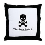 Ayes Have it Throw Pillow