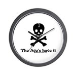 Ayes Have it Wall Clock