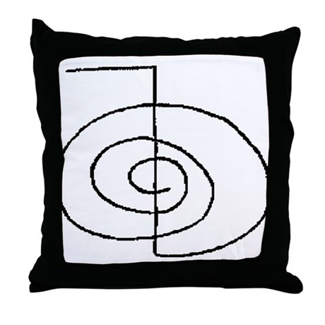 Cho-Ku-Rei (Mrs. Takata Hand Drawn) Throw Pillow