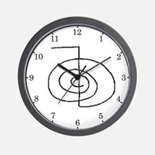 Cho-Ku-Rei (Mrs. Takata Hand Drawn) Wall Clock