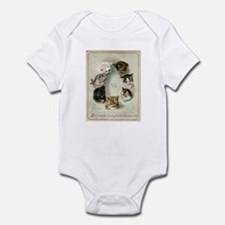 Cute Group of cats Infant Bodysuit