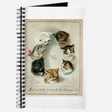 Cute Group of cats Journal