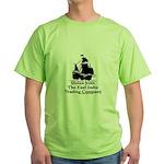 Stolen From EITC Ship Green T-Shirt