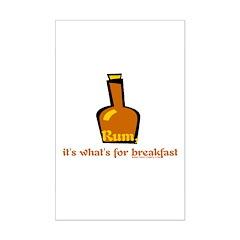 Rum For Breakfast Posters