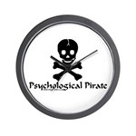 Psychological Pirate Wall Clock