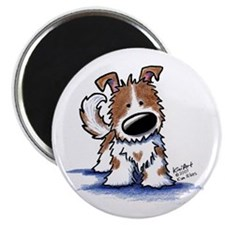 """TIPPY Terrier Mix 2.25"""" Magnet (10 pack)"""