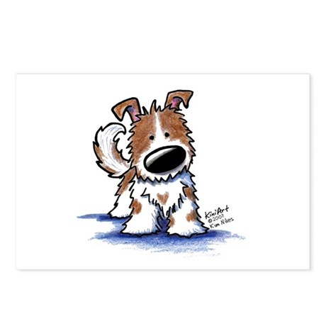 TIPPY Terrier Mix Postcards (Package of 8)