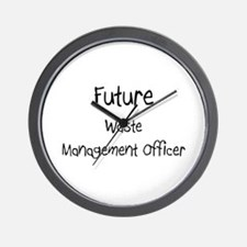 Future Waste Management Officer Wall Clock