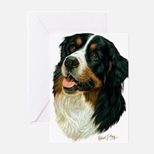 Bernese 2 Greeting Cards