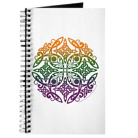 Celtic Mandala Emblem Journal