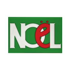 NOEL Green Rectangle Magnet