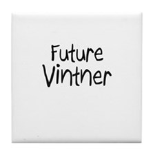 Future Vintner Tile Coaster