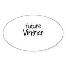 Future Vintner Oval Decal