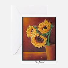 'Sunflowers' Greeting Card