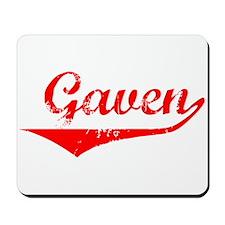 Gaven Vintage (Red) Mousepad