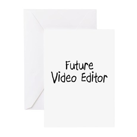 Future Video Editor Greeting Cards (Pk of 10)