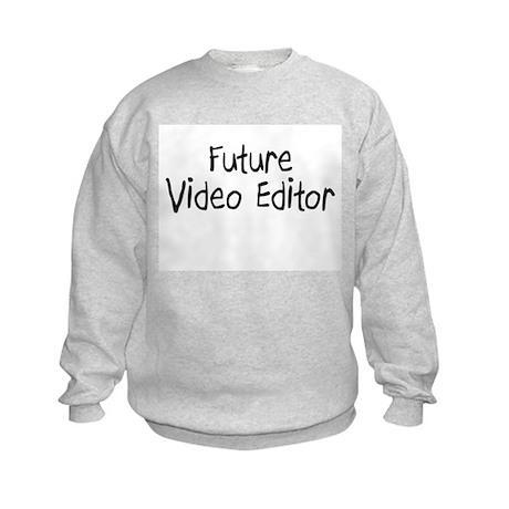 Future Video Editor Kids Sweatshirt