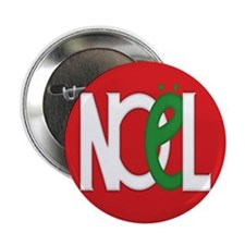 "NOEL Red 2.25"" Button"