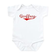 Geoffrey Vintage (Red) Infant Bodysuit