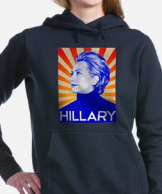 Cute I voted for obama Women's Hooded Sweatshirt