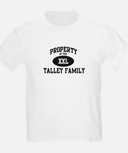 Property of Talley Family T-Shirt
