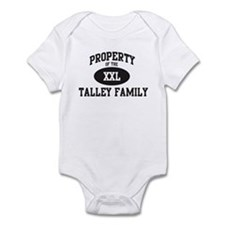 Property of Talley Family Infant Bodysuit