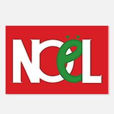 NOEL Red Postcards (Package of 8)