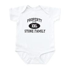 Property of Stone Family Infant Bodysuit