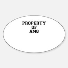 Property of AMG Decal