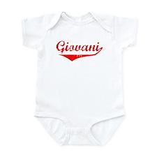 Giovani Vintage (Red) Infant Bodysuit