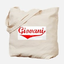 Giovani Vintage (Red) Tote Bag