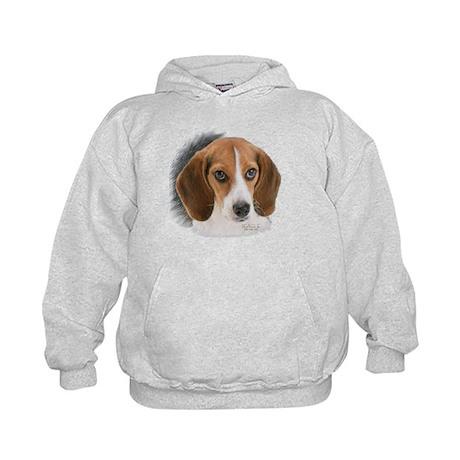 Beagle Close Up Kids Hoodie