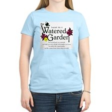Watered Garden Women's Pink T-Shirt