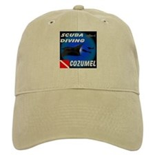 Scuba Diving Cozumel Baseball Cap