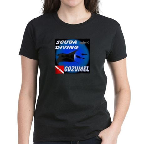 Scuba Diving Cozumel Women's Dark T-Shirt