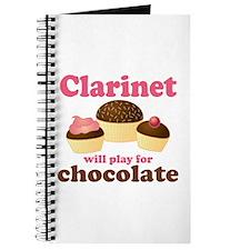 Funny Chocolate Clarinet Journal