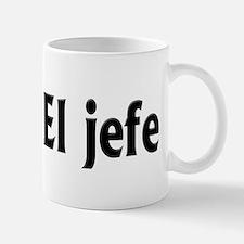 El Jefe (the Boss) Mug Mugs