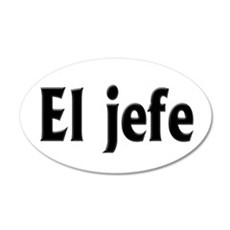El jefe (The Boss) Wall Decal